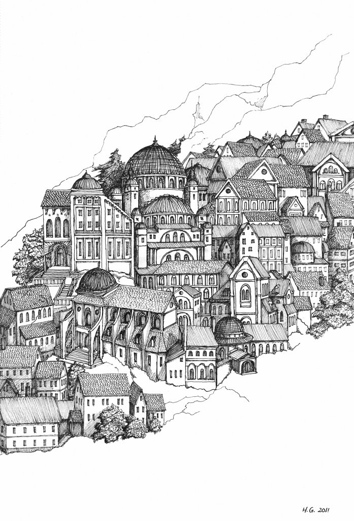 Medieval Mountain City 2
