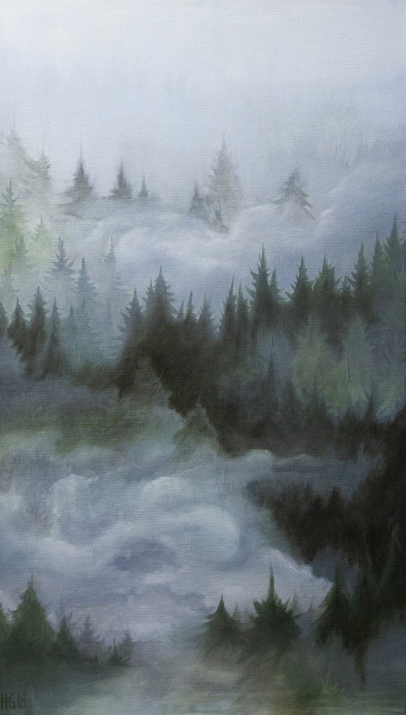 Misty Forest / Dimmig skog